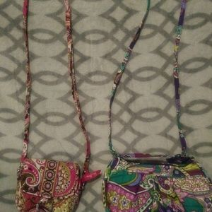 Bundle of 2 Vera Bradley shoulder bags